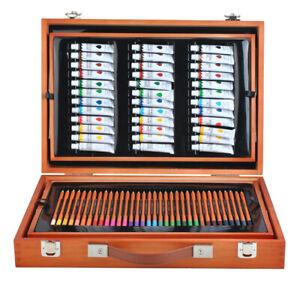 Malset Koffer Mega-Set 174 Einzelteile im Koffer Künstler Maler  6004