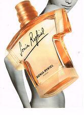 PUBLICITE ADVERTISING 064  1997  SONIA RYKIEL  parfum