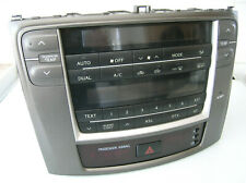 LEXUS IS 220 250 AC HEATER CLIMATE CONTROL CD STEREO DISPLAY CLOCK PANEL