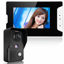 "7"" TFT LCD Monitor Wired Color Video Door Phone Doorbell Home Intercom System"