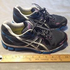 ASICS GT-2000 T2K7N Women's Synthetic Running Shoes US 8 Black/Multi