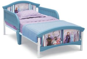 Girls Disney Frozen 2 Anna And Else Toddler Bed Kids Children Bedframe New