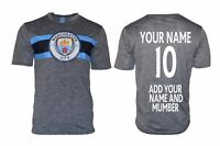 Manchester City Soccer Jersey  * Add Any Name and Number Man City