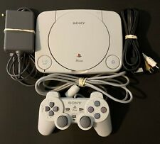 Sony Playstation One PS1 SCPH-101 Console with Controller and Cables - Tested