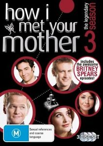 How I Met Your Mother Series 3 Three DVD (SET) Season Third - FAST POSTAGE