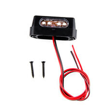 12V Front Rear Number License Plate LED Light Lamp Len For Yamaha Kawasaki KTM