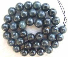 "10mm Natural Blue Tiger Eye DIY Semi Precious Round Loose Beads 15.5"""