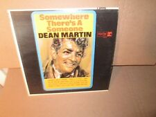 DEAN MARTIN - SOMEWHERE THERE'S A SOMEONE rare Vinyl LP Walk The Line BLUE DAY