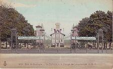 France Paris Bois de Boulogne - La Tribune et le Pesage de Longchamps postcard