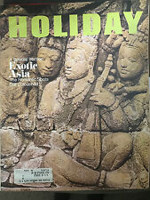HOLIDAY MAGAZINE FEBRUARY 1970 *EXOTIC ASIA/INDONESIA/BALI/BANGKOK*