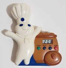 New listing Working 1997 Pillsbury Doughboy Magnetic Battery Operated Baking Oven Timer