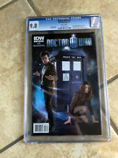 DOCTOR WHO #1 cgc 9.8 11th Doctor ONGOING IDW from 2011 Photo Cover Variant