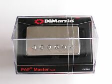 DiMarzio Regular Spaced PAF Master Neck Humbucker W/Nickel Cover DP 260