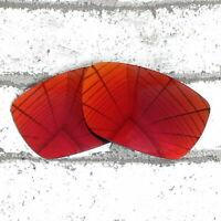Polarized Replacement Lens for-OAKLEY Tinfoil Sunglasses Orange Red UVA&UVB