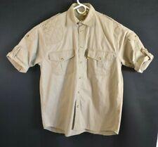 TAG Safari Right Handed Mens Size XXL Short Sleeve Shooting Shirt 100% Cotton