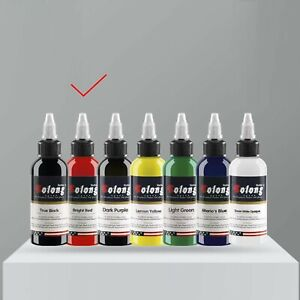 Solong Professional Tattoo Ink - 1 oz Bottle