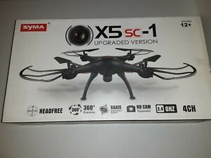 SYMA X5SC-1 Red 6-Axis Gyro RC Quadcopter Drone UPGRADED VERSION W/ HD Camera