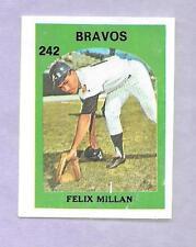 1972 VENEZUELAN STAMP #242 FELIX MILLAN VENEZUELA TOPPS BASEBALL ~NO POPULATION~