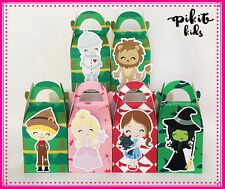 WIZARD OF OZ PARTY FAVOUR BOXES KID BIRTHDAY LOLLY LOOT BAGS SUPPLIES DECORATION