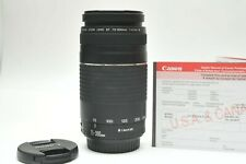 Canon EF 75-300mm f/4.0-5.6 III Lens For Canon Rebel T3 7D Mark II 80D 70