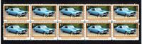 HOLDEN MONARO M/EXCELLENCE STRIP OF 10 MINT VIGNETTE STAMPS 3