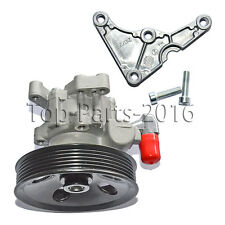 Brand New Power Steering Pump For Mercedes C230/C280/C350/CLK350 -With support