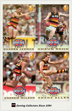 SET-1997 Adelaide AFL Premiership Grand Final Heroes Card Set (4)