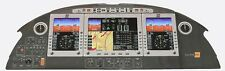 "Rare Large Photo (51.75"" by 18.5"") of Eclipse 500 Instrument Panel"