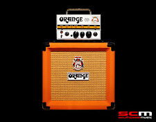 ORANGE MICRO TERROR AMP GUITAR AMPLIFIER STACK WITH HEAD & ONE PPC108 CABINET