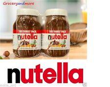 Nutella Hazelnut Spread 2 x 1kg