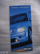 Racing Dynamics (u.a. R50 Tornado V8, RD V8 5.0-32, Z8) Prospekt / Brochure, GB