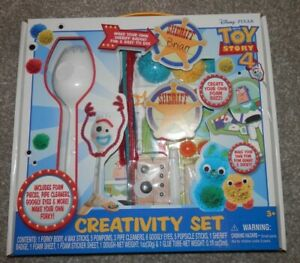 Toy Story 4 Creativity Set Make Your Own Forky Bunny & Ducky Craft Art Set