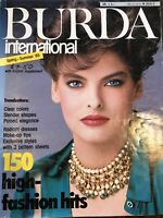 VTG  Craft Magazine: BURDA International Spring/Summer 1985  Slender Shaped