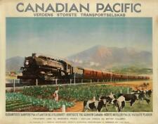 P.J. WRIGHT (DATES UNKNOWN). CANADIAN PACIFIC / VERDENS STØRSTE TRANSP... Lot 42