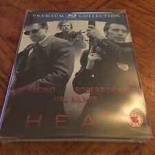 Heat Steelbook Region Free Premium Collection (Blu-ray, UK) Sealed! Free Ship!