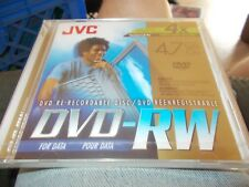 JVC DVD-RW RE-RECORABLE DISC BRAND NEW SEALED