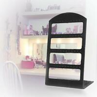 48 Holes Black Plastic Earrings Display Show Jewelry Rack Stand Organizer Hot ZH
