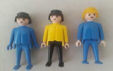 Vintage Playmobil Figures x3-PLAYMOBIL 1974 figures x3