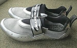 GAERNE G-THIN SILVER CYCLING SHOES SIZE 42 RRP £99.95