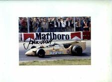 Jochen Mass Arrows A2 Dutch Grand Prix 1979 Signed Photograph 2