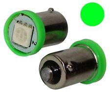 2x ampoule T4W T5W BA9s 12V 1LED SMD vert éclairage intérieur plaque seuils