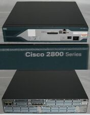 CISCO 2851 INTEGRATED SERVICES ROUTER W HWIC 4ESW CARD