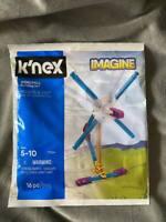 K'NEX Windmill Building Set Beginner Starter Build 16 Pieces Ages 5-10 NEW