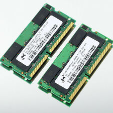 512MB 2X 256MB PC100 100Mhz SDRAM 144pin Sodimm Memory RAM laptop notebook