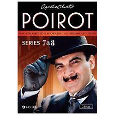Agatha Christie's Poirot, Series 7 & 8 by David Suchet, Hugh Fraser, Philip Jac