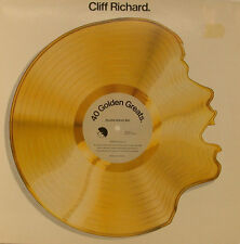 "CLIFF RICHARD 40 GOLDEN GRANDI DOPPIO ALBUM 12"" POLLICI LP (h544)"