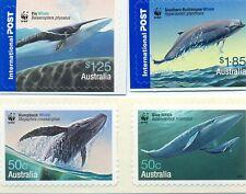 Australia-Whales-2006 set of 4 mnh Self-adhesive (2664-7)