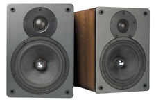 Cambridge Audio S30 Bookshelf Speakers; Walnut Pair; S-30 (New)