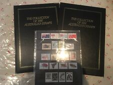1991 Australian Post YearBook Album Stamps - Executive Leather Black Edition