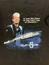 Babylon 5 It Was The Dawn Of The Third Age Of Mankind Sheridan T Shirt Size 2X